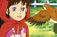 Scena iz filma Crvenkapa (Little Red Riding Hood)